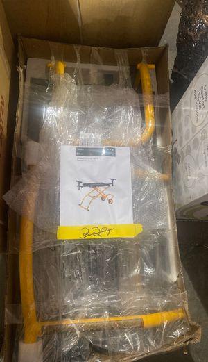 Dewalt 32-1/2 in x 60 in rolling miter saw stand for Sale in Phoenix, AZ