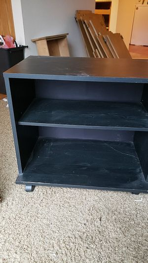 BLACK IKEA ROLLING NIGHTSTAND for Sale in Vancouver, WA