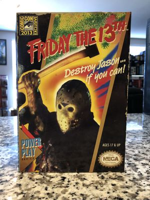 NECA SDCC 2013 FRIDAY THE 13TH NES VIDEO GAME JASON VOORHEES ACTION FIGURE for Sale in San Jose, CA