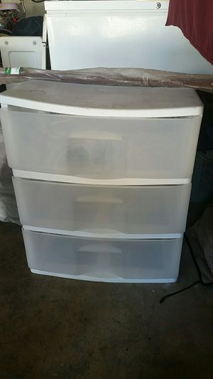Plastic drawers for Sale in Cypress, CA