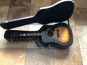 Gibson Guitar J-160E model 923167 sun burst John Lennon edition for Sale in Chester, MD