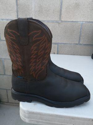 Ariat steel toe work boots 9.5D for Sale in Riverside, CA