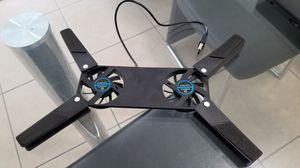Dual fan for laptop refresh base, 2 ventiladores para laptop que refrescan la batería for Sale in Medley, FL