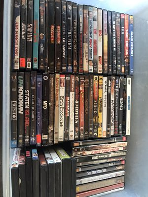 DvD movies more 300 for all $60 for Sale in Spring Valley, CA