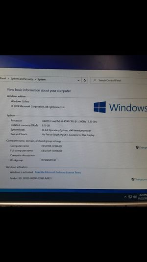 Dell OptiPlex 3020 SFF i5 4th Gen, 500GB SSD, 8GB RAM for Sale in Phoenix, AZ