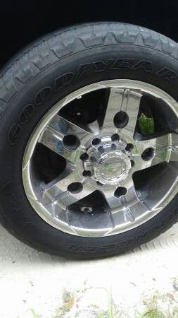 "Ultra 8 Lug 20"" Chrome Rims Tires Set of 4 for Sale in Plant City, FL"