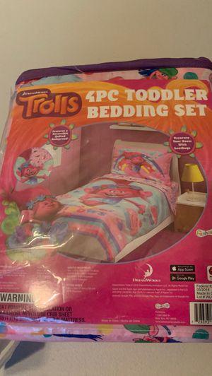 Trolls toddler bedding set for Sale in Thornton, CO