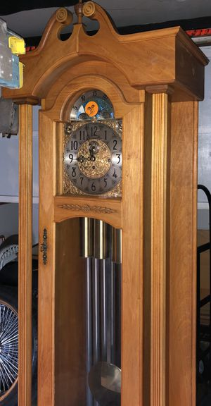 Shabby Chic Vintage Antique Herschede Grandfather Clock for Sale in Pasadena, CA