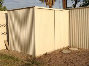 2 outside storage sheds - good condition for Sale in Scottsdale, AZ