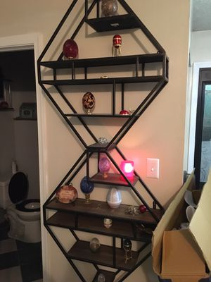 Wall shelves (Metal and Wood) for Sale in UPR MARLBORO, MD
