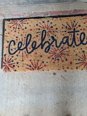 Celebrate doormat for Sale in Raleigh, NC