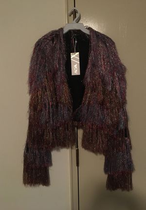 Fringed jacket new with tag for Sale in Detroit, MI