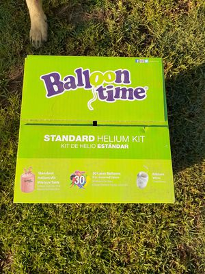 Balloon time helium kit for Sale in Bloomington, CA