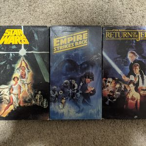 Star Wars Trilogy VHS for Sale in Puyallup, WA