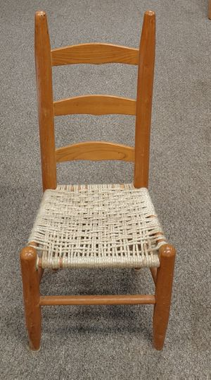 Antique Ladder Back Child's Chair for Sale in Burlington, NC
