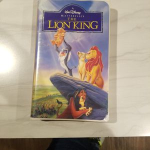 VHS - The LION KING the Original 1995 VHS Movie for Sale in Deer Park, TX