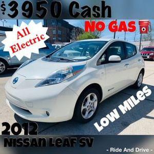 2012 Nissan LEAF for Sale in Nashville, TN