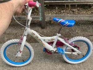 "Girls Bike 16"" Flutterfly works great, everything tight, see wear on pedals but is solid for Sale in Tigard, OR"