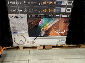 Samsung QN55Q60RAFXZA Flat 55-Inch QLED 4K Q60 Series Ultra HD Smart TV with HDR and Alexa Compatibility (2019 Model) for Sale in Downey, CA