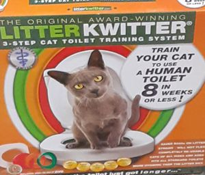 Litter Kwitter train your cat to use a human toilet for Sale in Olympia, WA