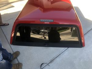 Camper shell Red for Sale in Escondido, CA