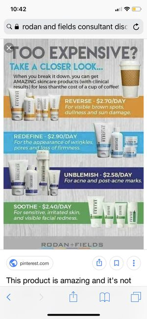 Rodan & Fields Skim Care for Sale in Moreno Valley, CA