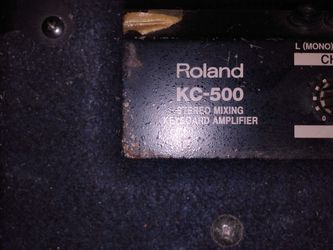 Roland KC 500 Keyboard Stereo Mixing Amp for Sale in San Francisco,  CA