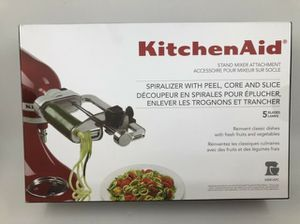 KitchenAid Spiralizer Attachment with Peel, Core and Slice - KSM1APC for Sale in Washington, DC