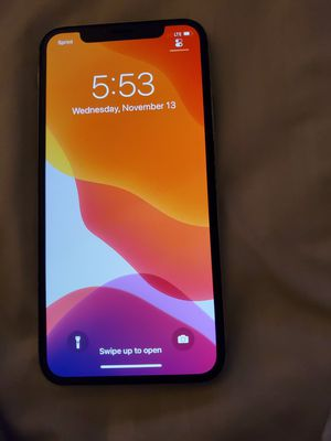 iPhone x 64gb sprint for Sale in New York, NY