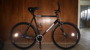 "Black Authentic ""Unknown(Combat)"" Feather-Weight Single Speed Alloy Fixie Bike XL Size 64 In Excellent Condition 10/10. for Sale in ROWLAND HGHTS, CA"