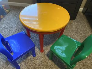 Kids 2-in-1 Plastic activity Table for Sale in Dublin, OH