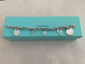 Tiffany & Co. sterling silver charm bracelet and box for Sale in Arlington, TX