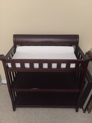 Changing table with pad for Sale in Port St. Lucie, FL