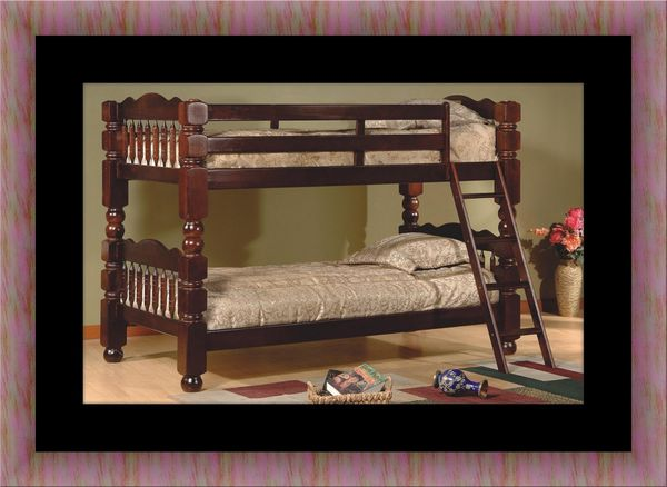 Twin wooden bunkbed frame