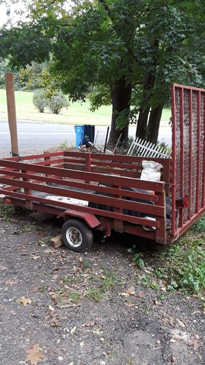 Small utility trailer 600 best offer for Sale in Cromwell, CT