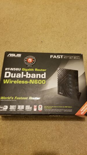 Asus Dual Band wireless Router for Sale in Stockbridge, GA