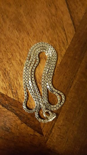 """Yellow gold over sterling silver box chain 20"""" for Sale in Severn, MD"""