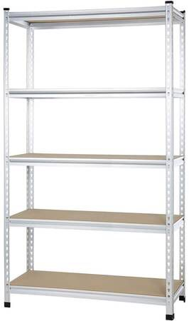 AmazonBasics Medium Duty Shelving Double Post Shelf, 48 x 18 x 72 for Sale in Monroe, WA