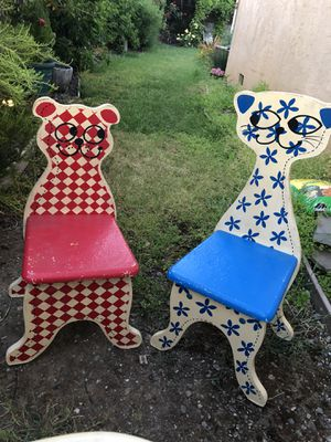 Calico Cat and Gingham Dog Child Set for Sale in San Jose, CA