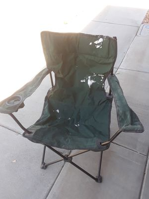 Used folding camping chair for Sale in Rosamond, CA