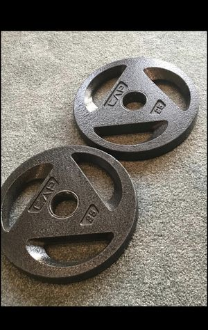 2 Cap weight plates for Sale in Merrick, NY