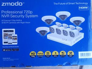 Surveillance system with 8 camera for Sale in Corona, CA