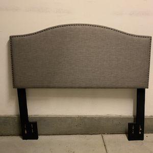 Grey Head Board for Sale in Chino, CA