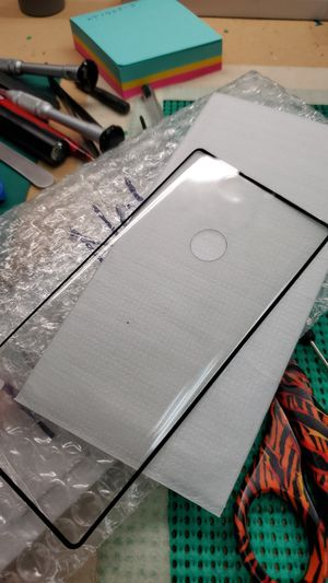 NOTE 10 REG. TEMPERED GLASS SCREEN PROTECTOR, FULL GLUE for Sale in Woodville, CA