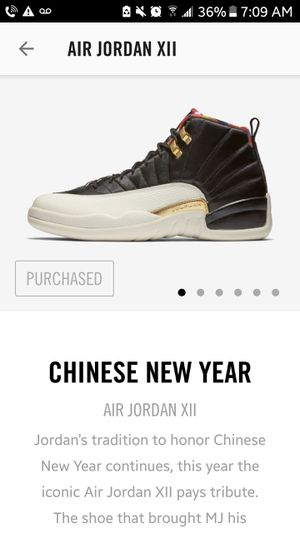 Chinese New Year Jordans 12 for Sale in San Fernando, CA