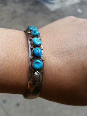 Vintage Native American Turquoise Bracelet for Sale in Queens, NY