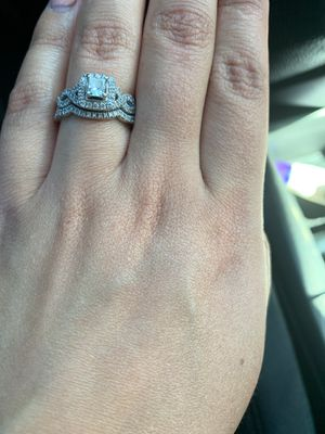 Neil Lane wedding band and engagement ring all together for Sale in San Diego, CA