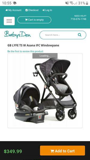 GB Lyfe stroller combo for Sale in Honolulu, HI