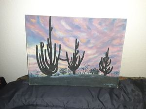 *V. Morphis Cactus Painting* for Sale in Temecula, CA