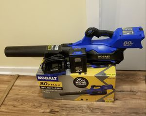 Kobalt 80-volt Leaf Blower( Battery + Charger included) for Sale in Cary, NC